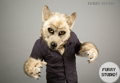 Mr. Grey (partial fursuit)_1